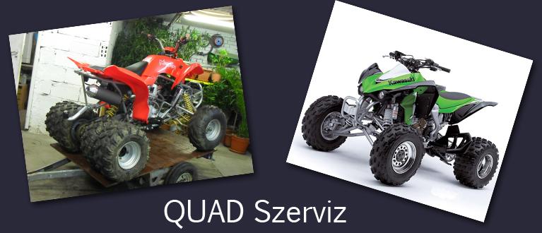 Quad szerviz